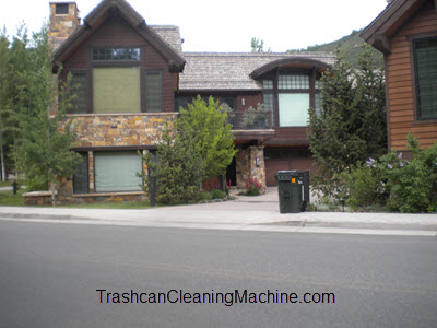 Trashcan Cleaning Service