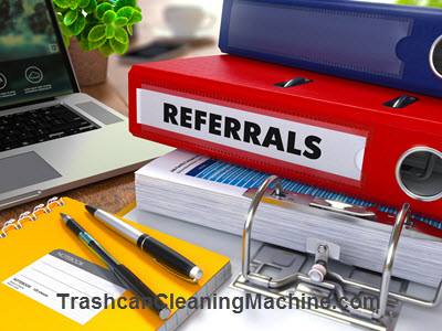 Trashcan Cleaning Business Referrals